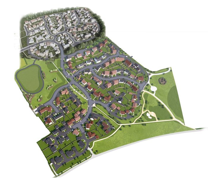 Phase 2 of the popular Meadow Vale development in Buntingford